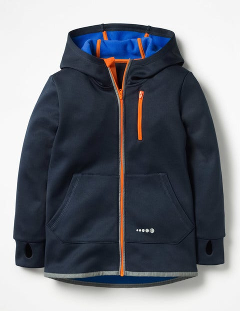 Active Zip-Up Hoodie - Midnight Blue