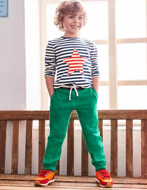 Gestreiftes Shirt Mit Symbol - Schuluniform-Navy/Ecru, Stern