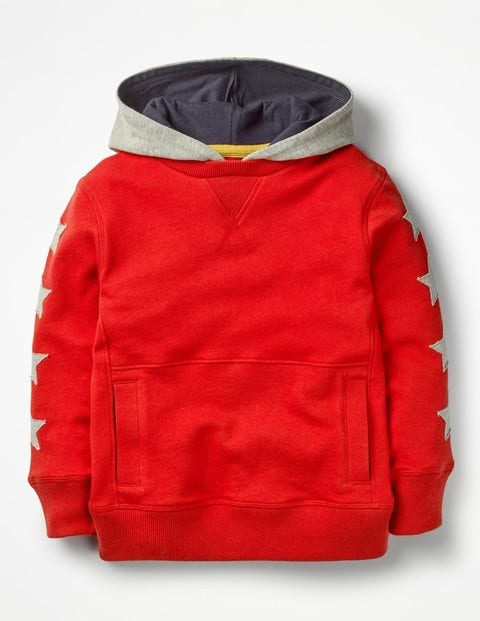 Sporty Hoodie - Salsa Red