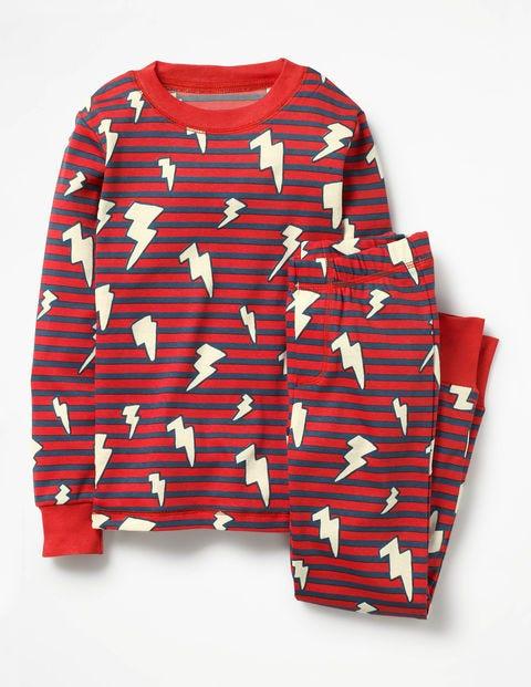 Product photo of Glowinthedark pyjamas red boys boden red