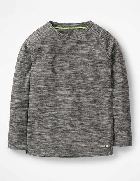 Boden Langes Sportunterhemd Grey Jungen Boden   