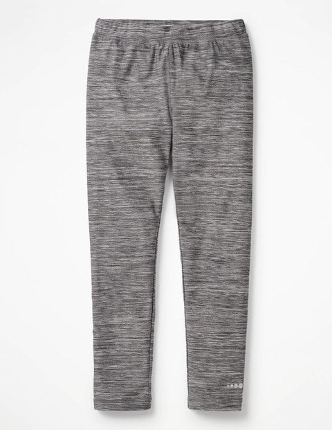 Athletic Long John - Charcoal Marl