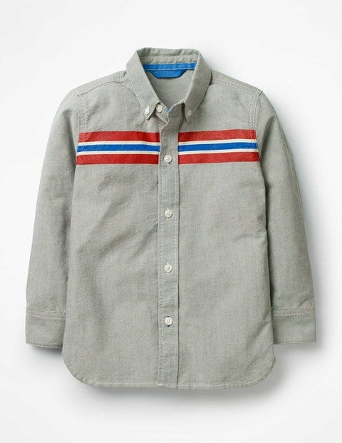 Sporty Shirt - Grey Marl Oxford
