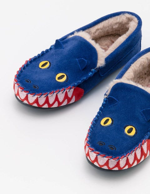 Dragon Suede Slippers