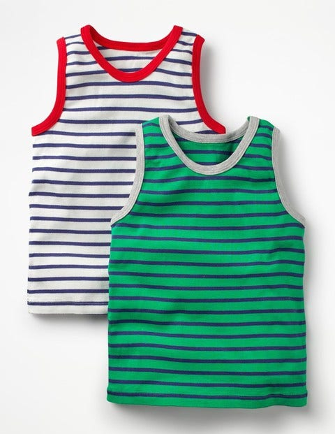 2 Pack Vests - Astro Green/Starboard Blue