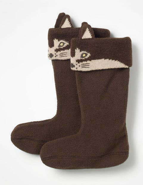 Welly Liners - Brown