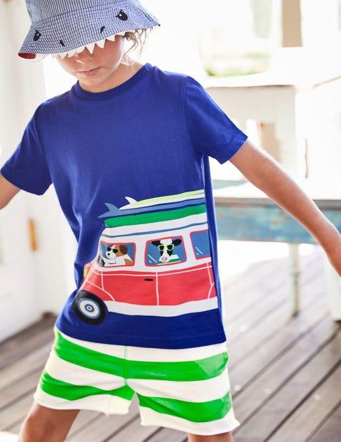 Surf Van T-Shirt - Orion Blue Surf Friends
