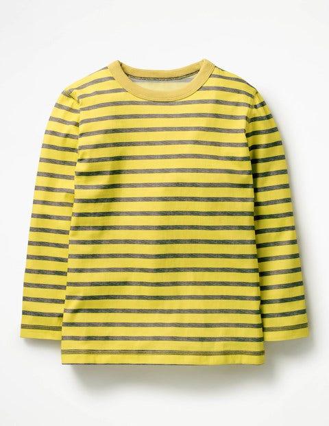 Supersoft T-Shirt - Sweetcorn Yellow/Charcoal Marl