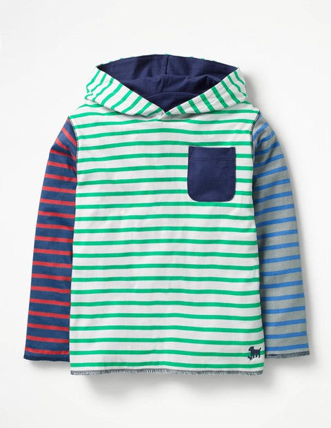 Reversible Hooded T Shirt by Boden