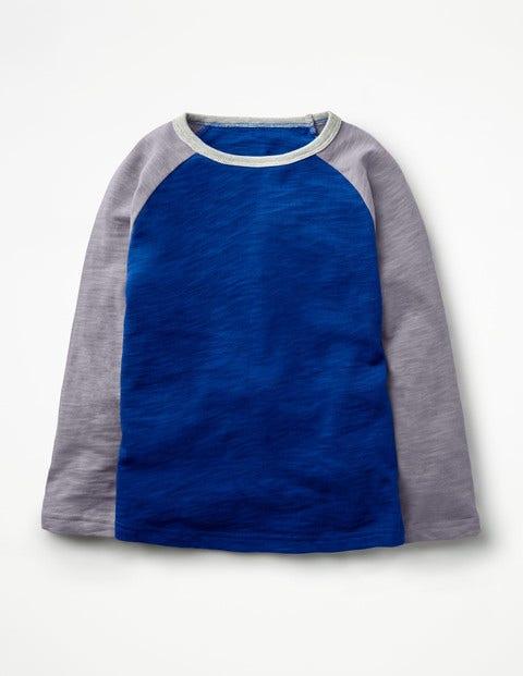 Raglan T-Shirt - Orion Blue/Washed Lavender