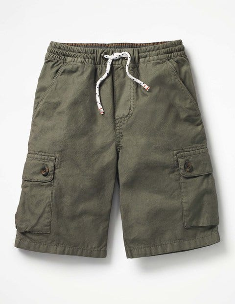 Pull-On Cargo Shorts - Terrain Green