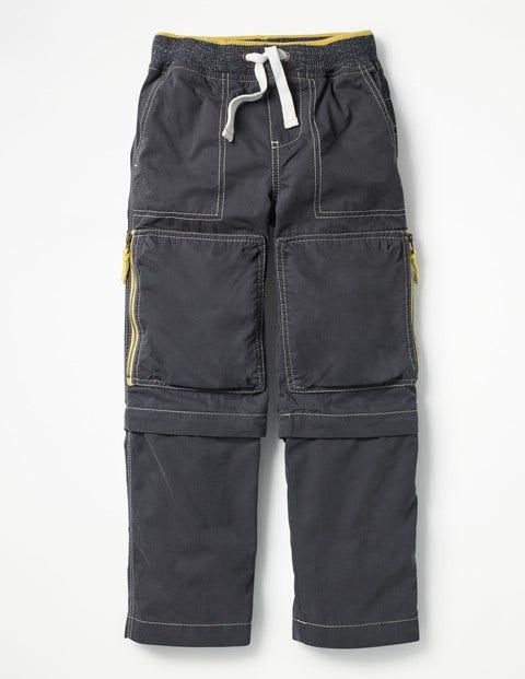 Zip-Off Techno Pants - Tyne Grey