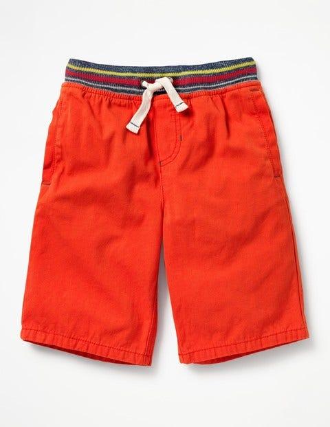 Rib Waist Shorts - Ziggy Red