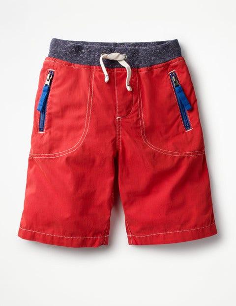 Abenteuer-Shorts Red Jungen Boden, Red rot |