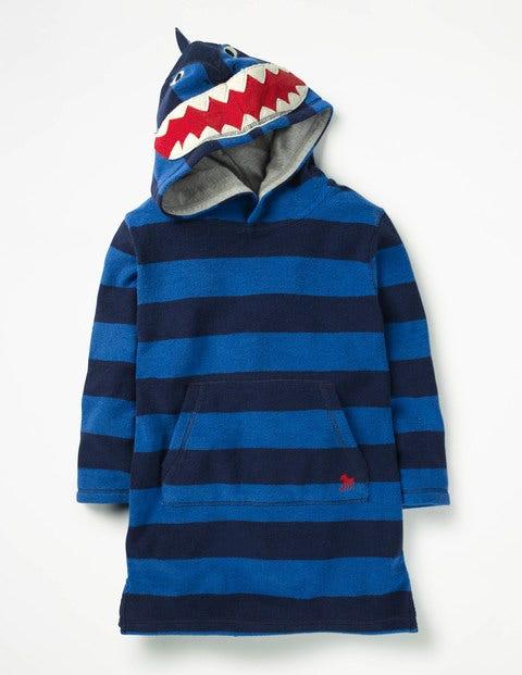 Towelling Throw-On - Skipper Blue/Beacon Blue Shark