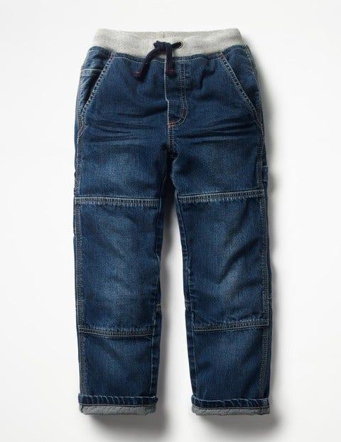 Rib Waist Carpenter Pants - Mid Vintage
