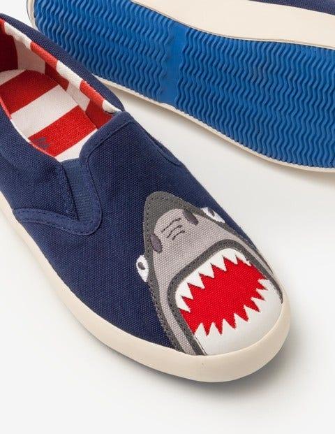 Boden Neue Schuhe zum Hineinschlüpfen Blue Jungen Boden blau |