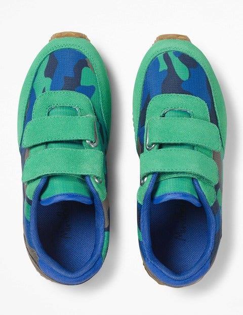 Boden Turnschuhe aus Veloursleder Green Jungen Boden blau,grün |