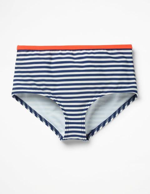 Swim Shorts - Deep Sea Blue/Ivory