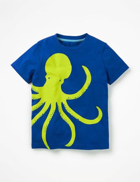 Wraparound T-Shirt - Orion Blue Octopus