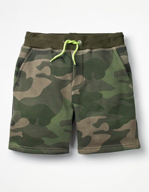 Jersey Shorts - Khaki Green Camo