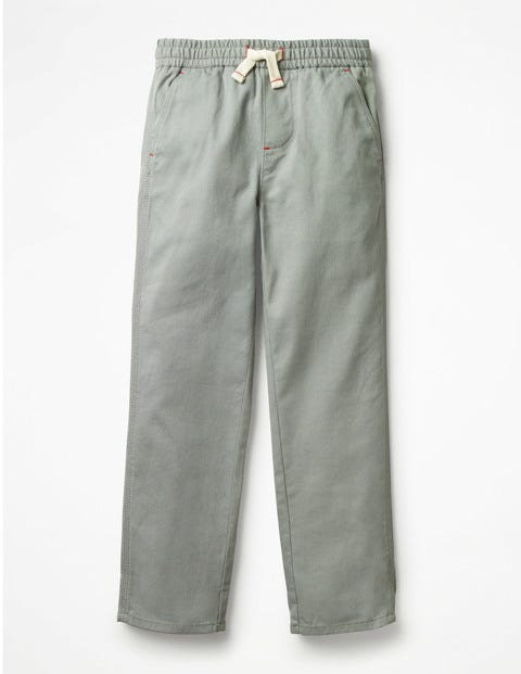 Pull-On Chinos - Pottery Green