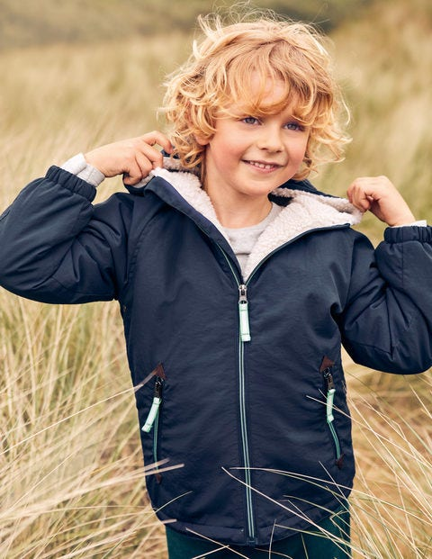 fc58a07abcbb Sherpa-lined Anorak B0392 Coats at Boden