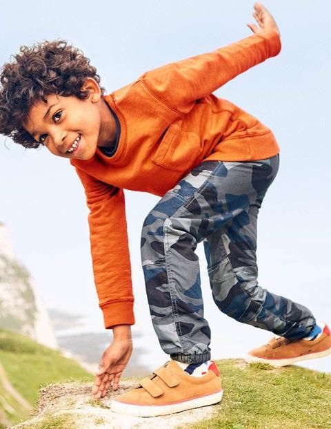 Garment-Dyed Sweatshirt - Mango Fizz Orange