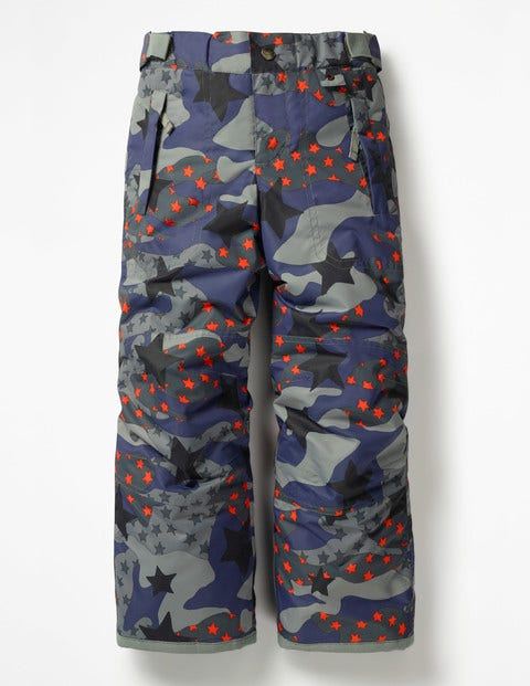 All-Weather Waterproof Trouser - Starboard Blue Starry Camo