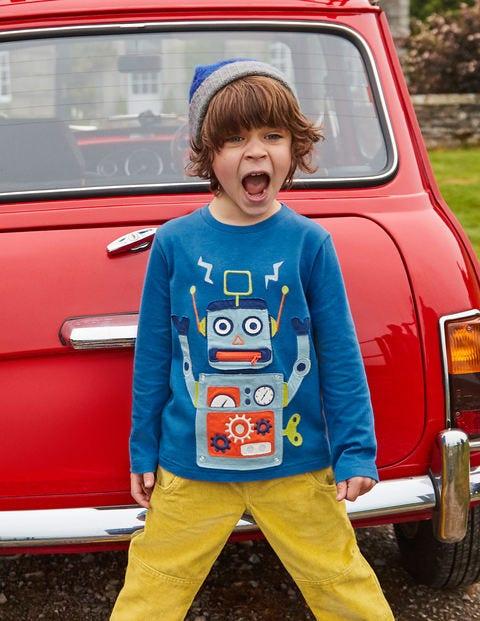 Novelty Toy T-Shirt - Daphne Blue Robot