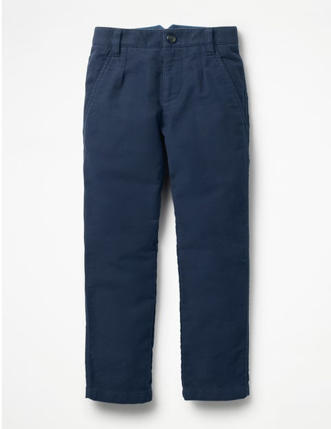 Smart Pants - School Navy Moleskin