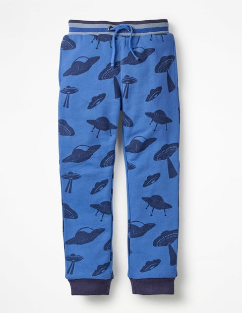 Cosy Lined Joggers - Daphne Blue UFO