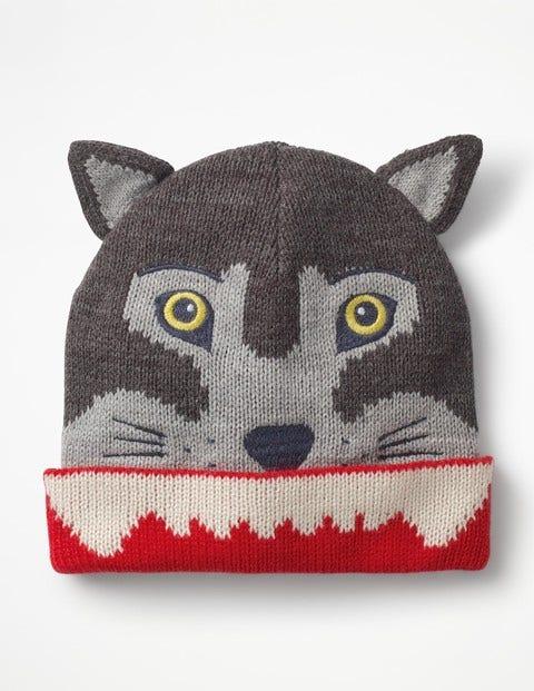 Wolf Hat - Grey Marl