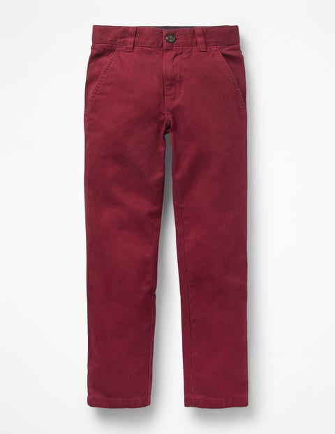 Chinos - Port Red