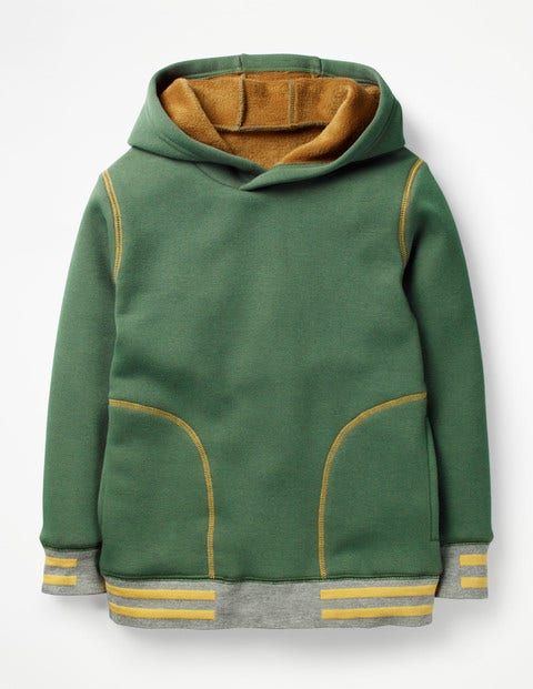 Cosy Popover Hoodie - Rosemary Green