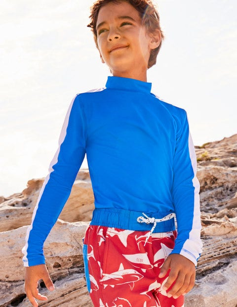 Rash Guard - Electric Blue