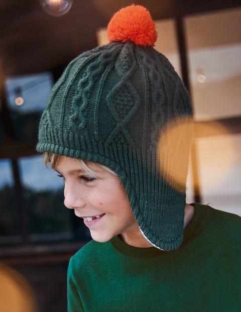 Fleece-Lined Hat - Cucumber Green