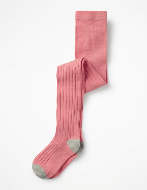Ribbed Tights - Formica Pink