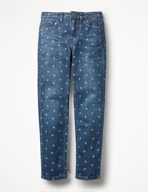 Boden Girlfriend-Jeans mit Print Denim Mädchen Boden  |