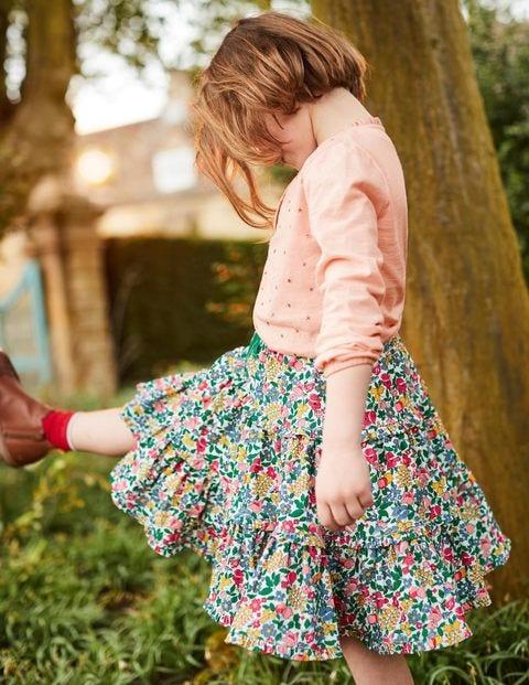 Twirly Frilly Skirt - Multi Flowerbed