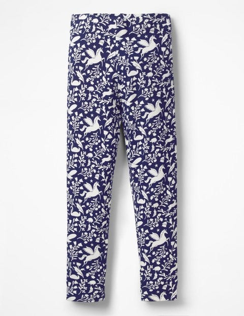Fun Cosy Leggings - Prussian Blue Peculiar Pets