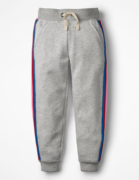 Detailed Joggers - Grey Marl