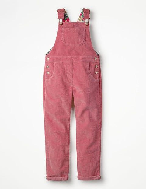 Long Dungarees - Rose Pink