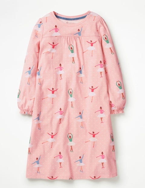 Printed Nightie - Provence Dusty Pink Ballet