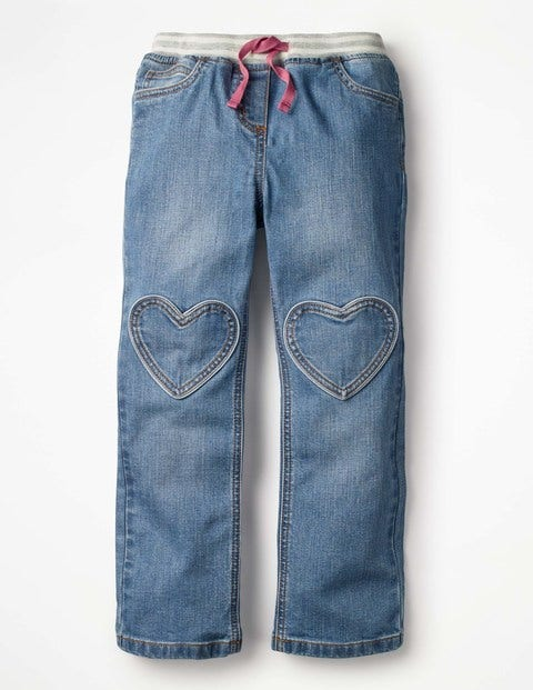 Heart Patch Jeans
