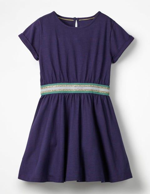 Sporty Jersey Dress - Prussian Blue