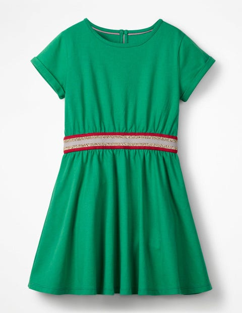 Sporty Jersey Dress - Green Pepper