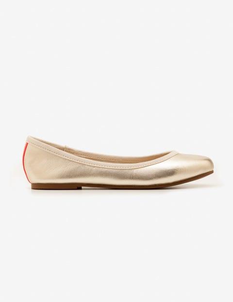 Ballerinas Gold Mädchen Boden, Gold gold |