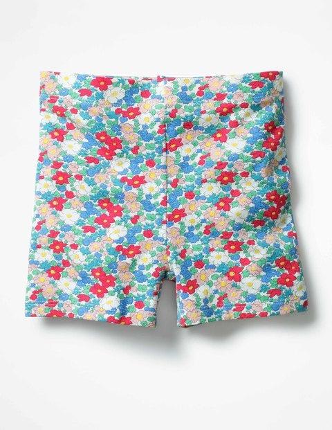 Jersey Shorts Strawberry Split Pink Floral Girls Boden