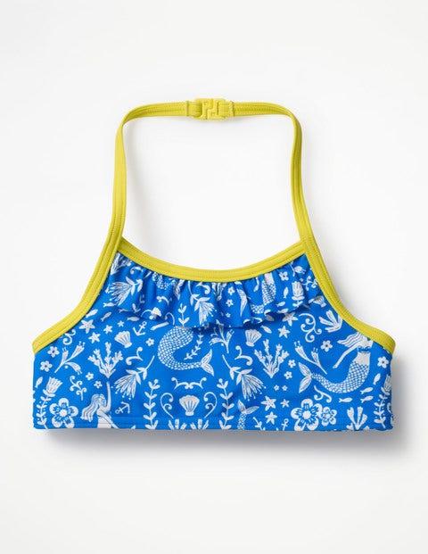 Pretty Bikini Top - Oasis Blue Mermaid Toile